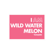 Crayola Colors Wall Graphic: I AM Wild Watermelon