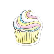 Crayola Yellow Pastel Cupcake