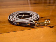 Soft Hide Leather Leash 1/2""