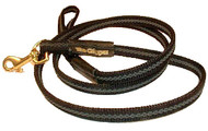 The Gripper Show Leash - 4ft x 3/8""