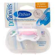 Dr Browns ORTHODONTIC 'PreVent' Soother 6-18mths