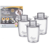 Tommee Tippee 'closer to nature' 3 pack Milk Powder Dispensers
