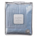 Living Textiles Cotton Cellular Blanket - Cot Size