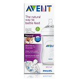 Avent 330ml 'Natural' Feeding Bottle 3m+