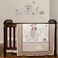 Living Textiles 5-piece Cot Set - BABOO