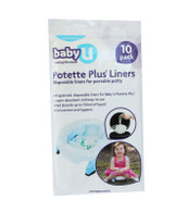 babyU Potette Plus 10-pack Disposable Liners