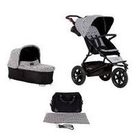 Mountain Buggy Urban Jungle Luxury + FREE Carry Cot+ - Pepita