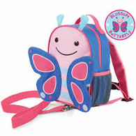 Skip Hop Zoo Mini Backpack with Rein - Butterfly