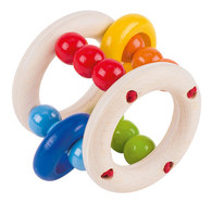 Heimess Round Elastic Rattle - Excellent German Quality