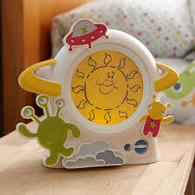 Little Aliens Clock Face