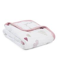 aden + anais classic stroller blanket - heart breaker