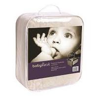 babyRest Lambswool Portacot Underlay 1040x710