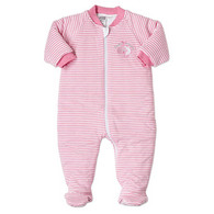 Snugtime Padded Long Sleeve Sleeper 2.5 Tog - Pink Lamb - 12-18 Months