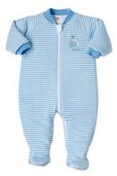Snugtime Padded Long Sleeve Sleeper 2.5 Tog - Blue Lion - 12-18 Months