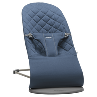 BabyBjorn Bouncer Bliss - Midnight Blue Cotton