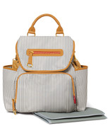 Skip Hop Grand Central Backpack Diaper Bag  - French Stripe