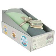Weegoamigo Knitted Baby Blanket -  Mountain