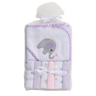 Big Softies Hooded Towel & 6 Washers – Girl