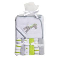 Big Softies Hooded Towel & 6 Washers – Unisex