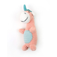 Weegoamigo  Crochet Rattle - Unique Unicorn