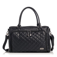 Isoki Double Zip Satchel Quilted