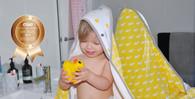 Little Turtle Baby Hooded Towel - Yellow
