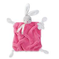 Kaloo Plume Raspberry Rabbit Doudou