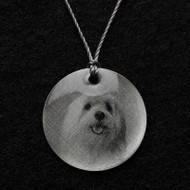 Maltese Pendant Necklace