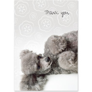 Poodle Boxed Thank You Notecards