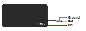 EMG Active Humbucker Wire Color Codes
