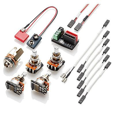 EMG 1-2 Pickup Solderless Electronics Conversion Kit