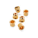 Guitar Rear String Ferrules-Gold