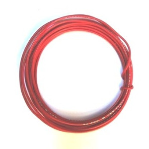 Solid Core 22 Gauge Guitar Circuit Wire-Red