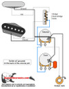 Tele Style Guitar Wiring Diagram