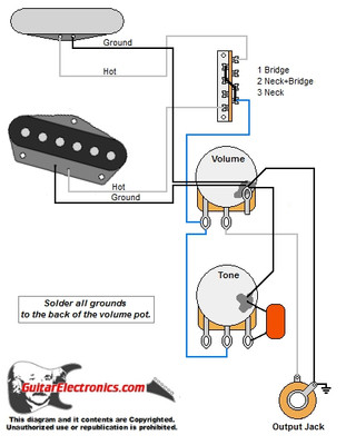 Style guitar wiring diagram on telecaster wiring diagram Telecaster Control Plate Wiring-Diagram standard telecaster wiring diagram