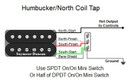 Humbucker/North Coil Tap