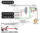1 Humbucker/1 Single Coil/3-Way Lever/1 Volume/01