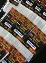 """Mean Skreenz Rosin Bagz - 25 Micron 2"""" x 4"""" (5 per pack)"""
