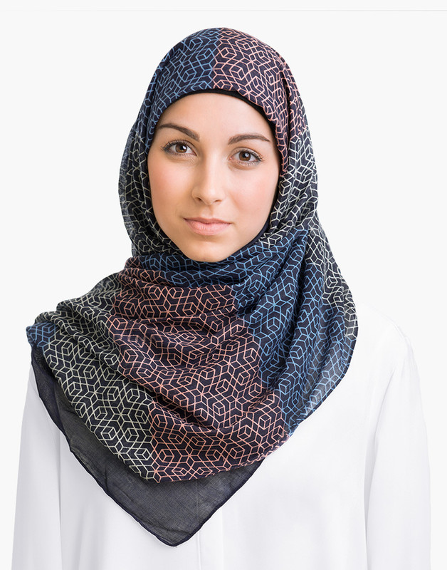 Simple Symmetry Hijab