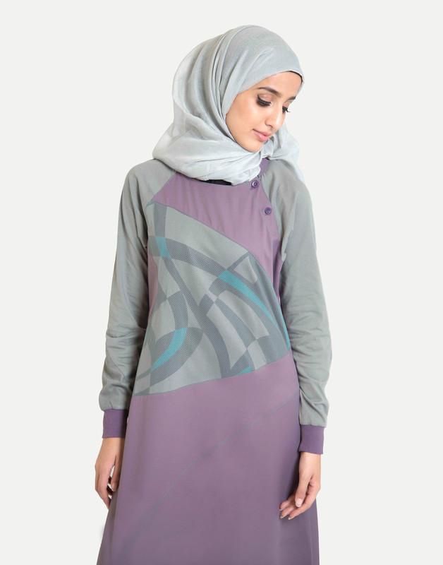 Sweet Purple Jilbab