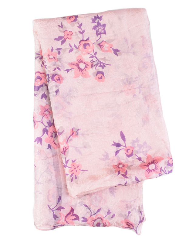 Floral Fancy Silk Hijab