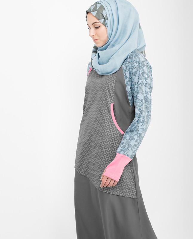 Vibrant  Jilbab