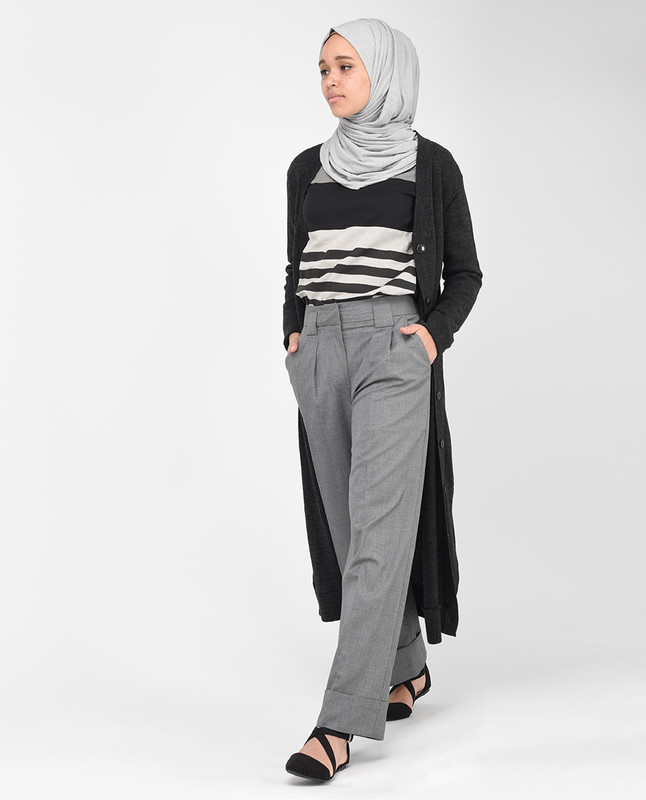 Charcoal Grey Trousers
