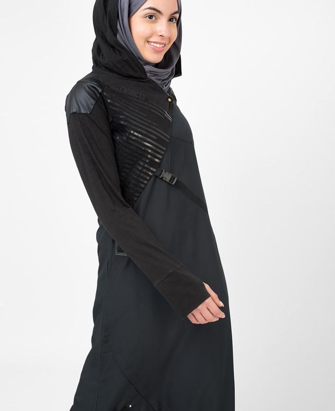 Boldly Black Jilbab