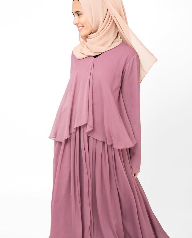 Blushing Rose Abaya