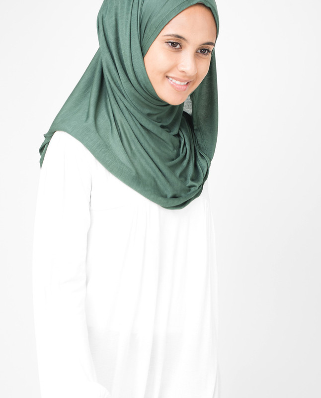 Dark Forest Viscose Jersey Hijab
