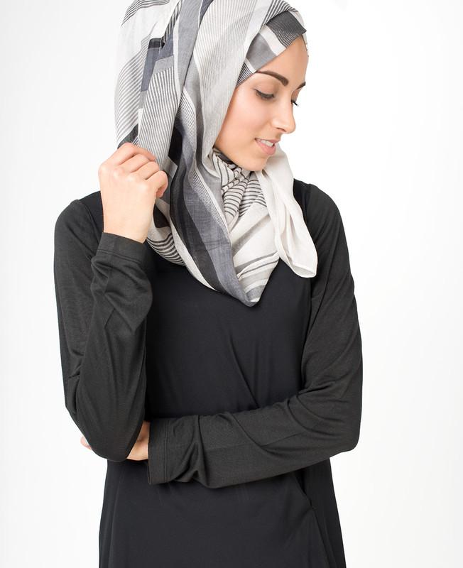 Glacier Grey Hijab