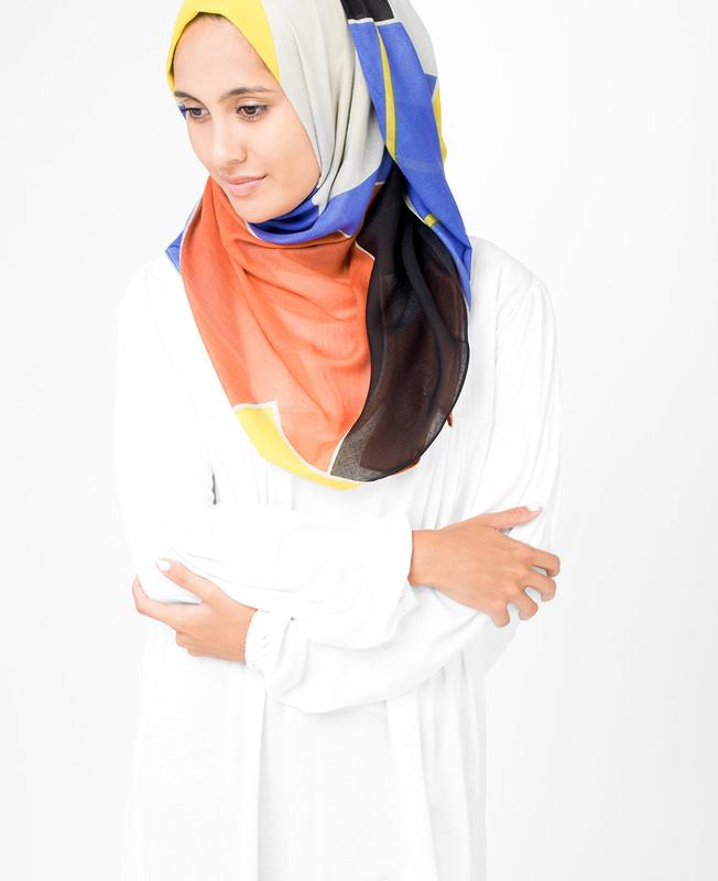 Silvery Grey Hijab