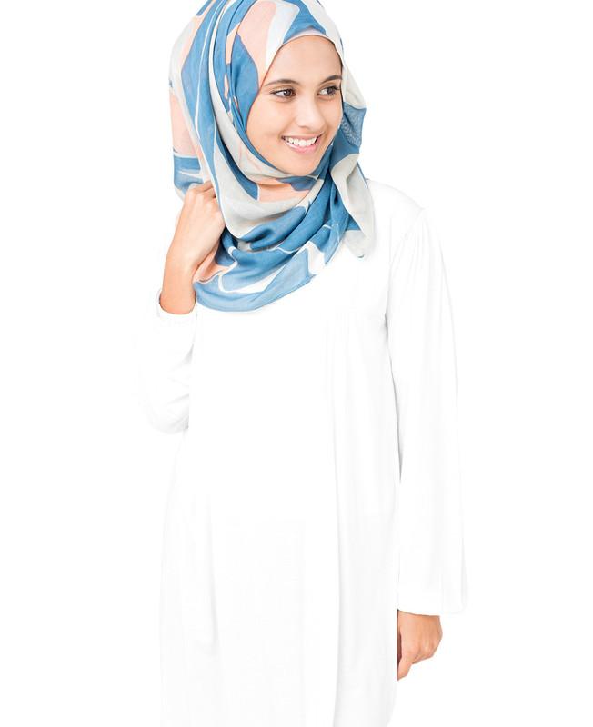 Barely Blue Hijab