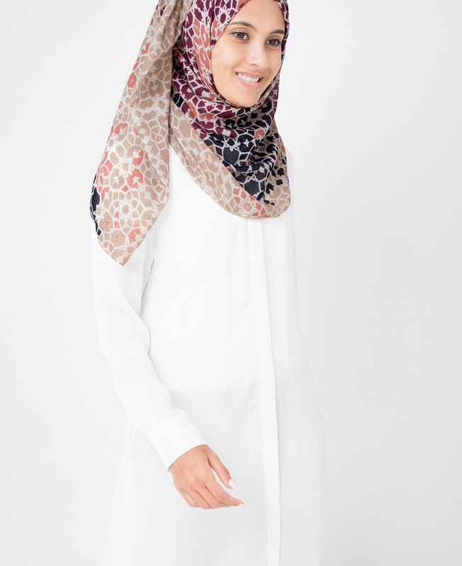 Moonlight Beige Hijab